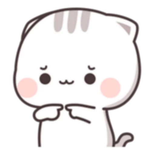Cutie Cat Chan C1 - Sticker 12