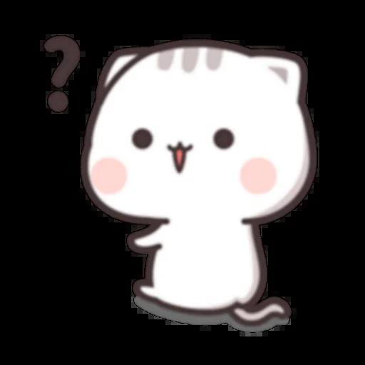 Cutie Cat Chan C1 - Sticker 9