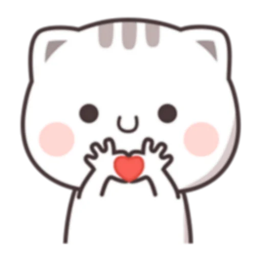 Cutie Cat Chan C1 - Sticker 10
