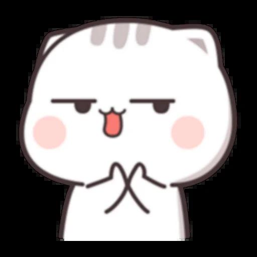 Cutie Cat Chan C1 - Sticker 22