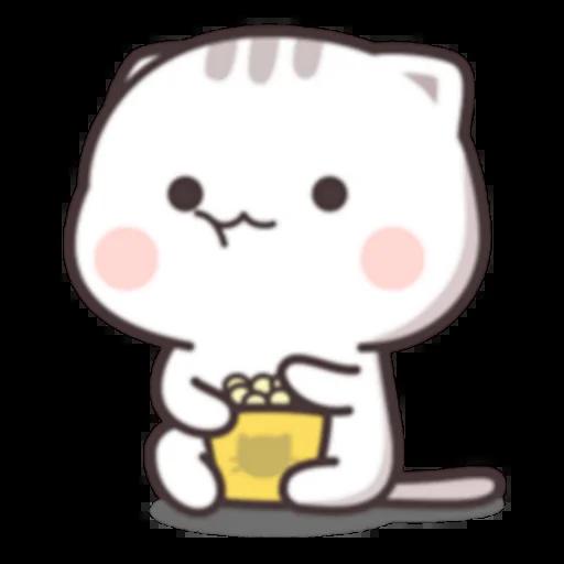 Cutie Cat Chan C1 - Sticker 7