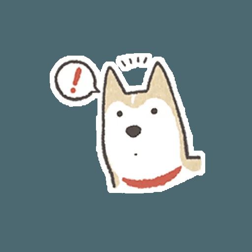 Shiba 1 - Sticker 4