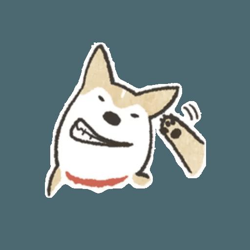 Shiba 1 - Sticker 24
