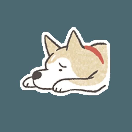 Shiba 1 - Sticker 5