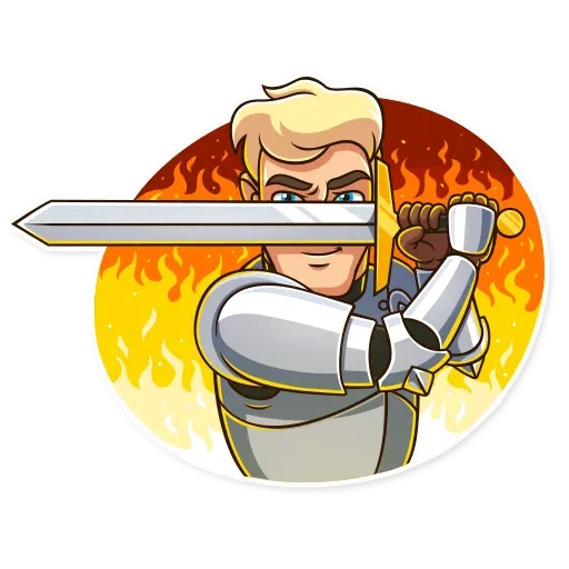 Knight - Sticker 7