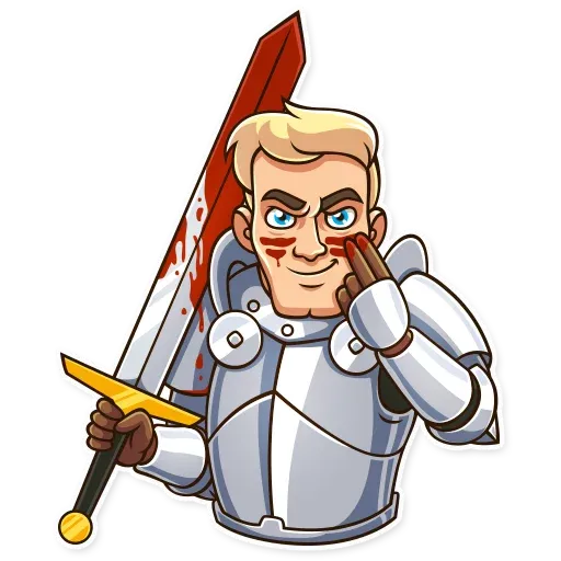 Knight - Sticker 17