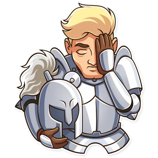 Knight - Sticker 24