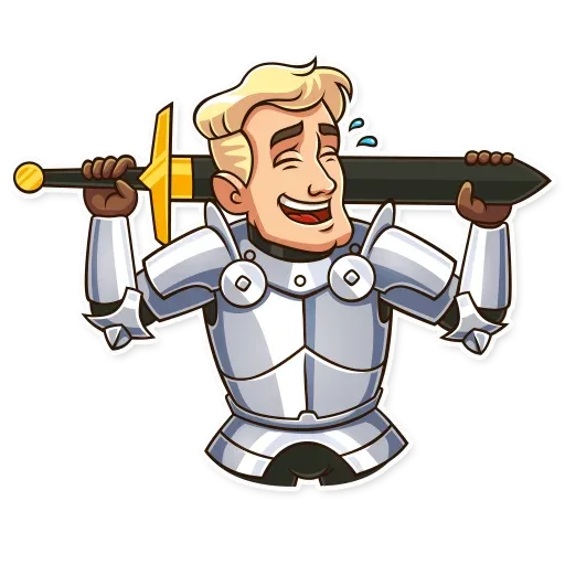 Knight - Sticker 1