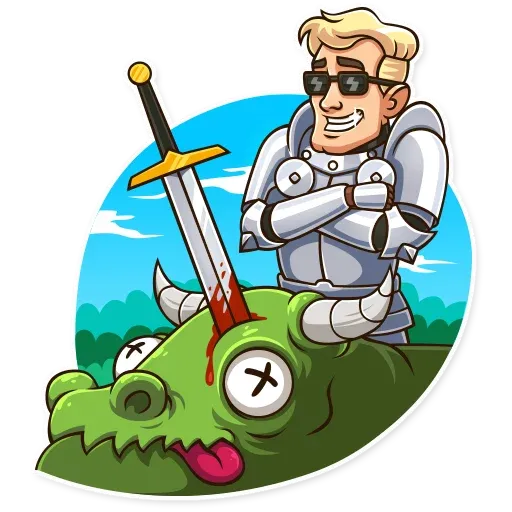 Knight - Sticker 11