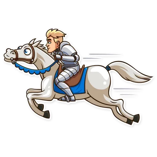 Knight - Sticker 16