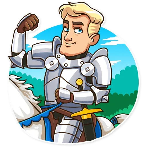 Knight - Sticker 13