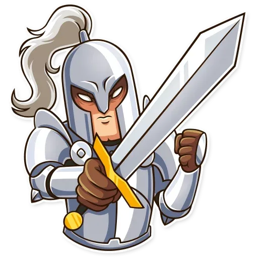 Knight - Sticker 9