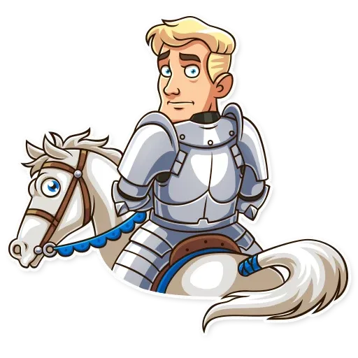Knight - Sticker 26