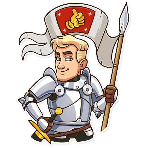 Knight - Sticker 3