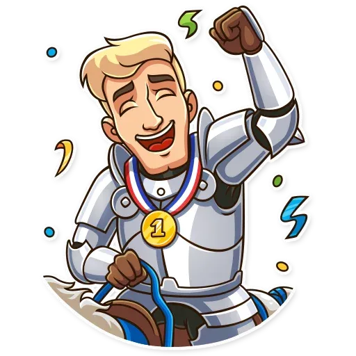 Knight - Sticker 12