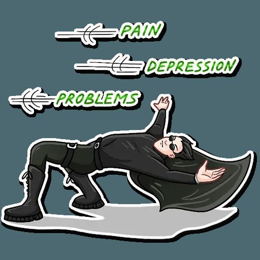 The Matrix - Sticker 17
