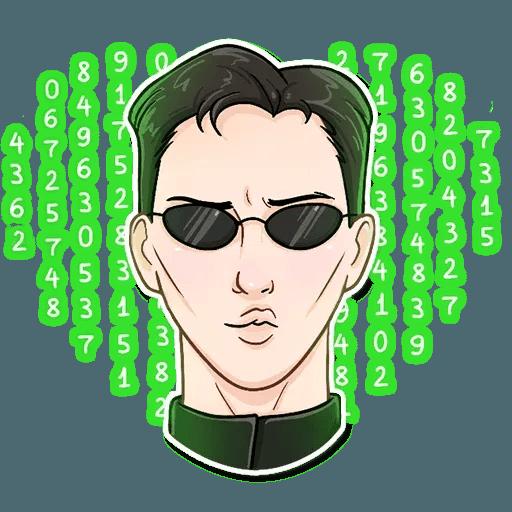 The Matrix - Sticker 12
