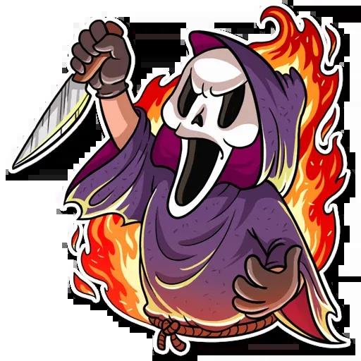 Scary Movie - Sticker 6