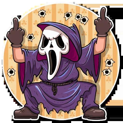 Scary Movie - Sticker 10
