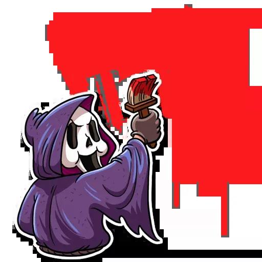 Scary Movie - Sticker 8