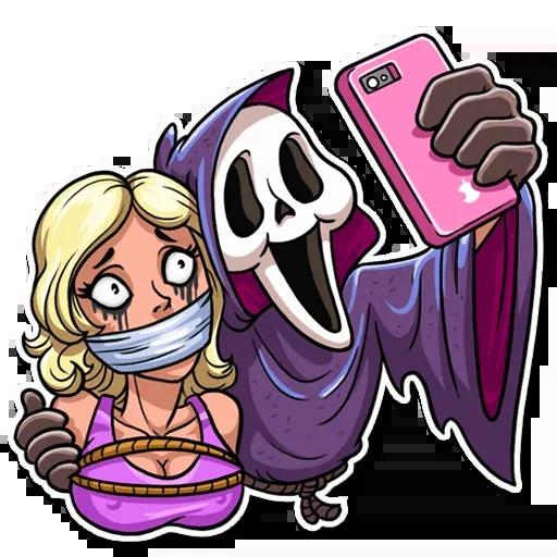 Scary Movie - Sticker 16
