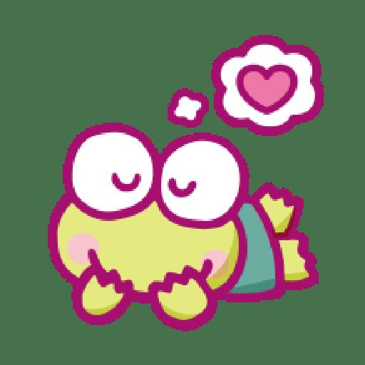 KEROKEROKEROPPI Emoji (Love) - 1 - Sticker 20
