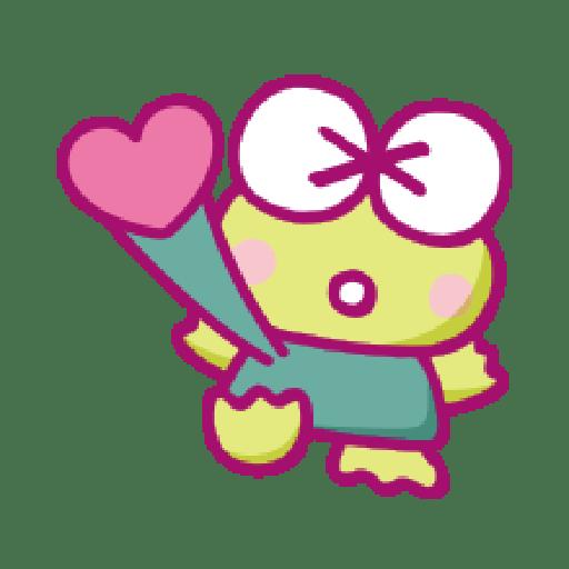 KEROKEROKEROPPI Emoji (Love) - 1 - Sticker 19