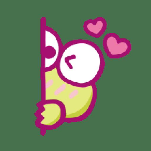 KEROKEROKEROPPI Emoji (Love) - 1 - Sticker 16
