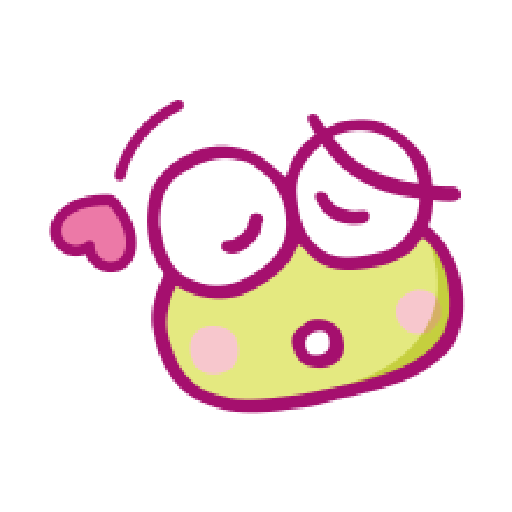 KEROKEROKEROPPI Emoji (Love) - 1 - Sticker 5