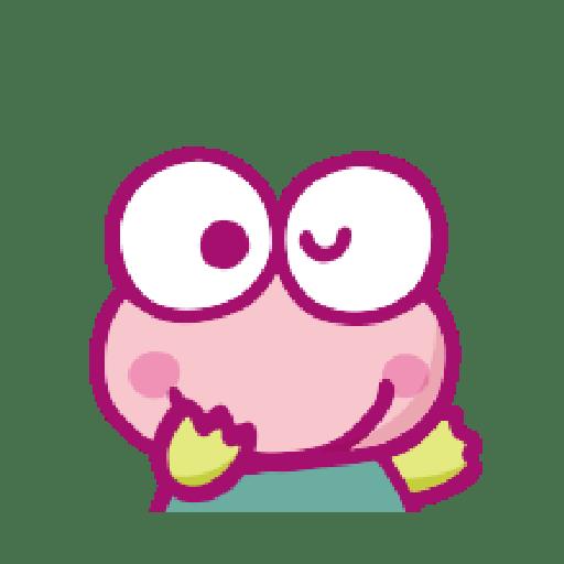 KEROKEROKEROPPI Emoji (Love) - 1 - Sticker 14
