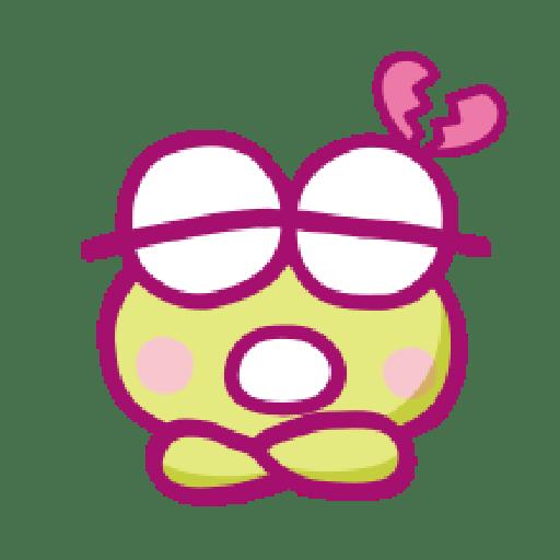 KEROKEROKEROPPI Emoji (Love) - 1 - Sticker 13