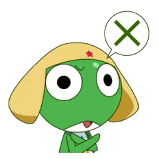 Keroro - Sticker 3
