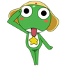 Keroro - Tray Sticker