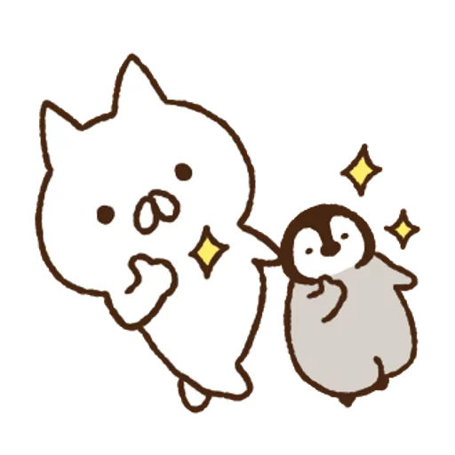 Nekopen mochi - Sticker 15