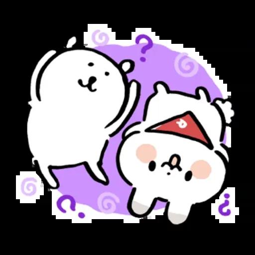 搞笑白熊3 - Sticker 18