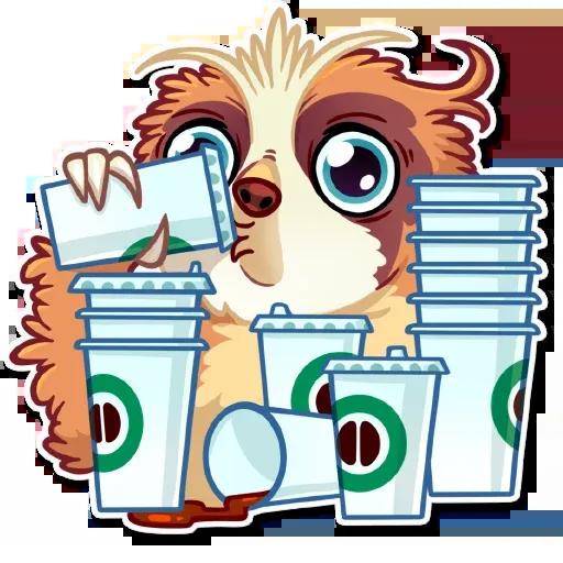 Perezoso simpático - Sticker 8