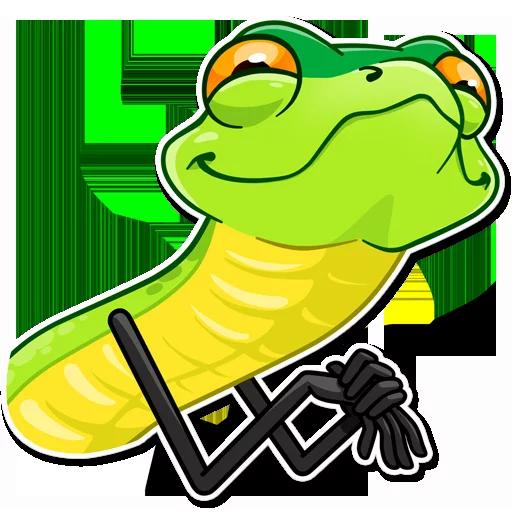 Snake - Sticker 8