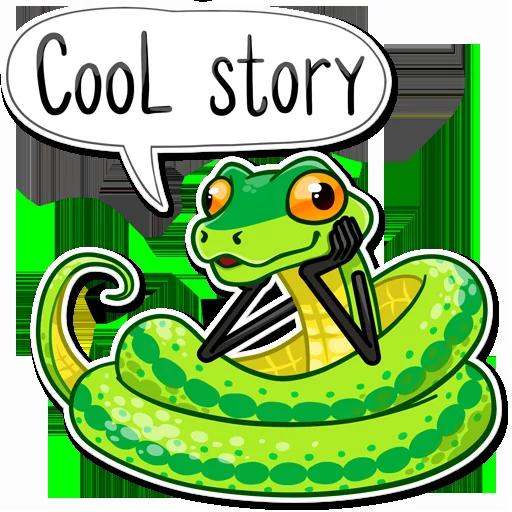 Snake - Sticker 20
