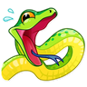 Snake - Tray Sticker