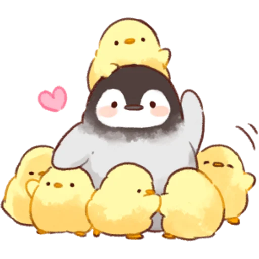 soft and cute chick 02 - Sticker 10