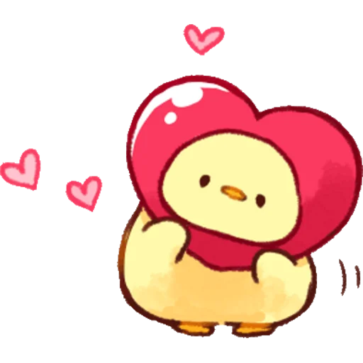 soft and cute chick 02 - Sticker 16