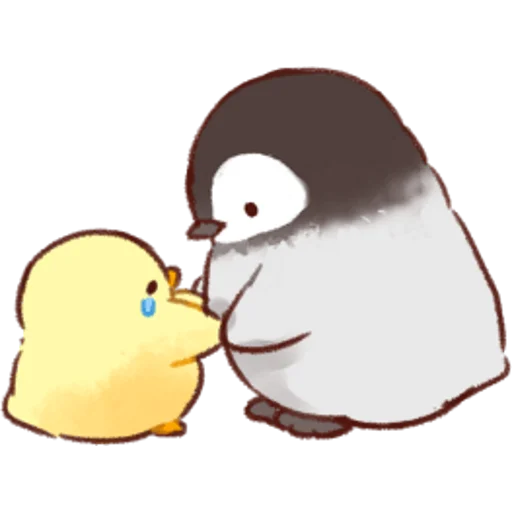 soft and cute chick 02 - Sticker 2