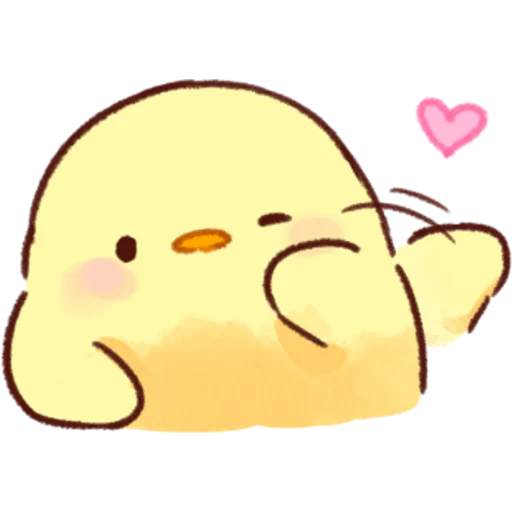 soft and cute chick 02 - Sticker 30
