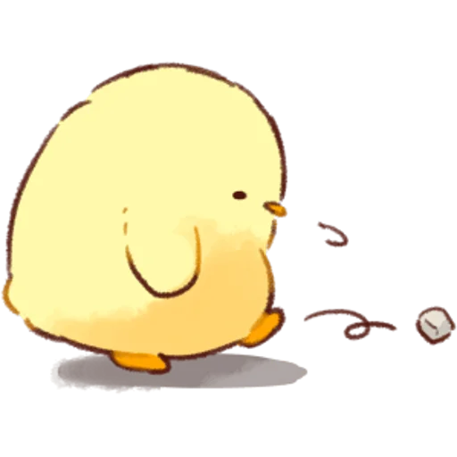 soft and cute chick 02 - Sticker 4