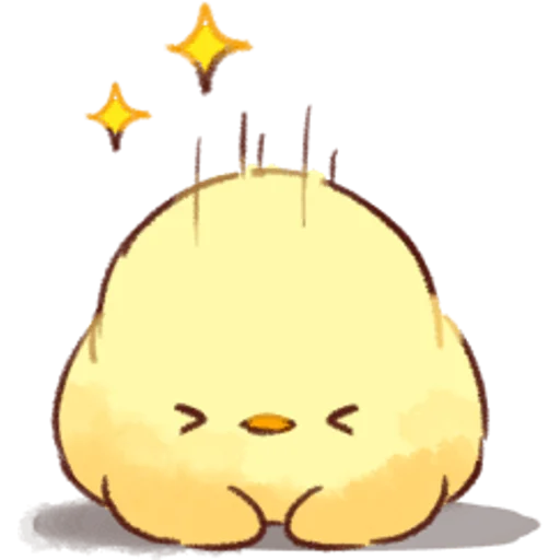 soft and cute chick 02 - Sticker 7