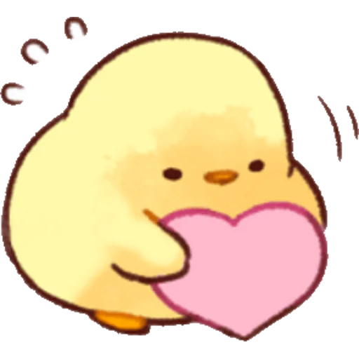 soft and cute chick 02 - Sticker 19