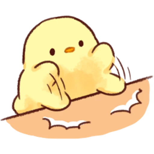 soft and cute chick 02 - Sticker 29
