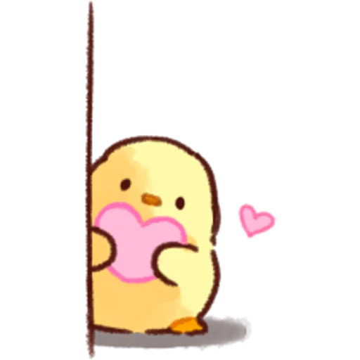 soft and cute chick 02 - Sticker 28
