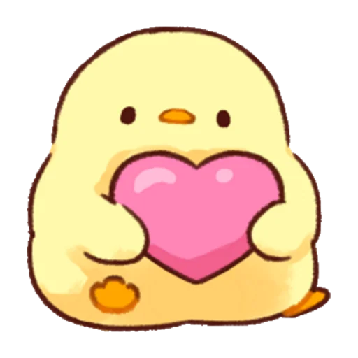 soft and cute chick 02 - Sticker 11
