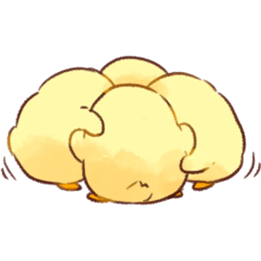 soft and cute chick 02 - Sticker 3